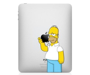 two_colorful_homer_simpson_ipad_decals_1