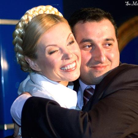 Саакашвили заботится о Тимошенко