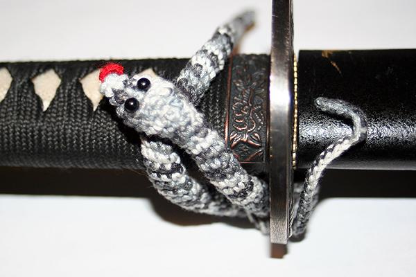 Змейсо на катане 1