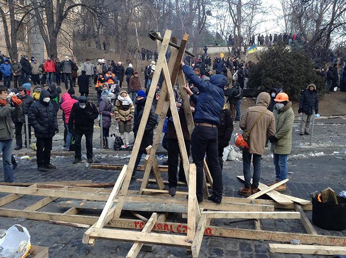 катапульта с Майдана