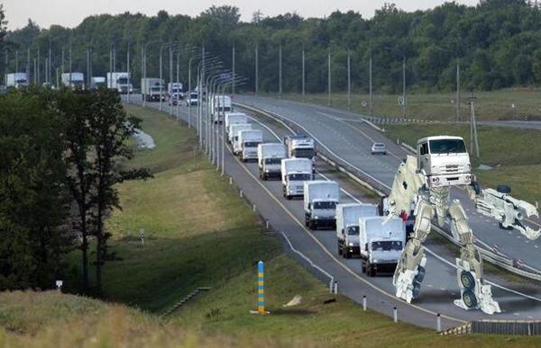 Российское вторжение в Донбасс