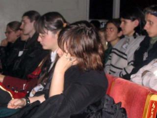 Концерт Сергея Калугина: сонные зрители