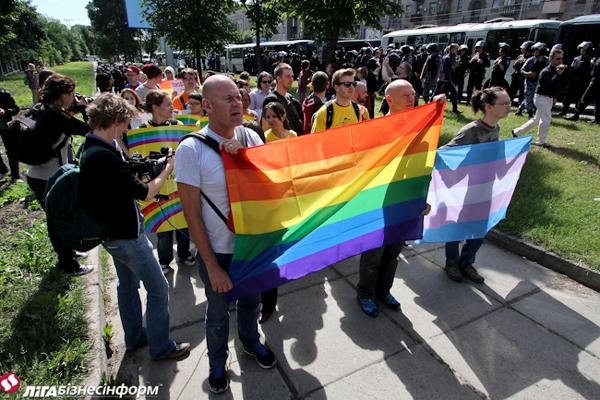 гей-парад в Киеве 25 мая 2013