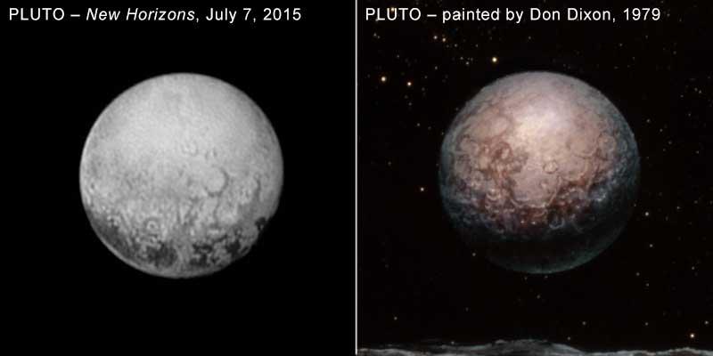 правильное прозрение: Плутон