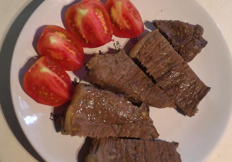 стейк из австралийской мраморной говядины