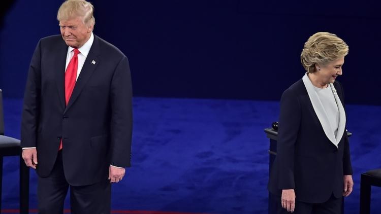 Клинтон и Трамп: разошлись пути-дорожки