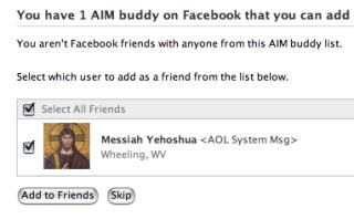 The AOL Messiah
