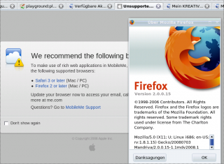 Apple says: Firefox for Linux, no thanks