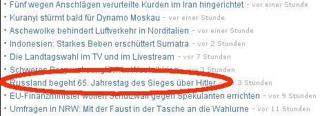 Deutschland hat also gar nicht kapituliert und Hitler hat den Krieg-dessen-Name-nicht-genannt-werden-darf alleine geführt? Kenn' ich.