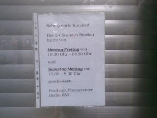 Die Rechengenies von der Postbank geben bekannt