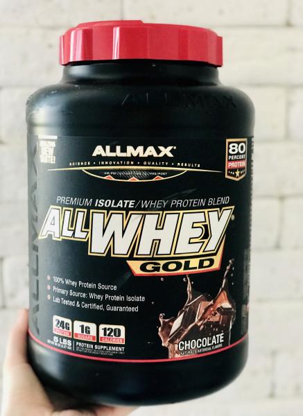 Премиальный протеин ALLMAX со вкусом шоколада