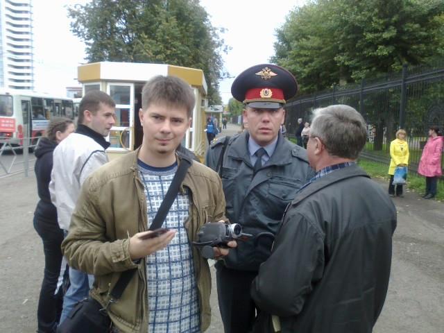 Я и Денис Владимирович Оськин