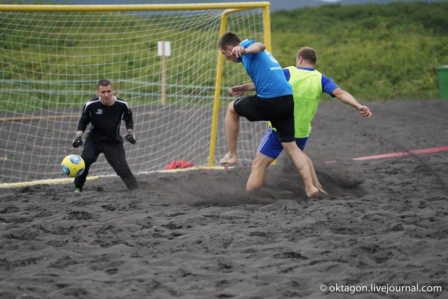 Халактырский пляж_футбол