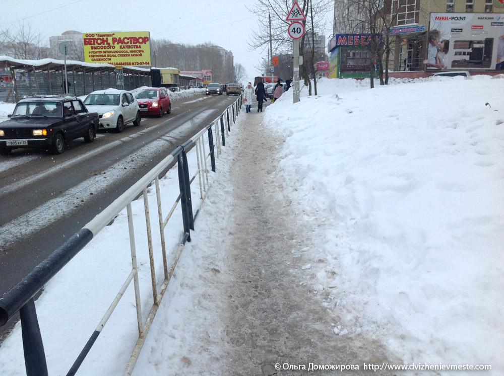 Зимняя дорога на коляске в Вологде (11)