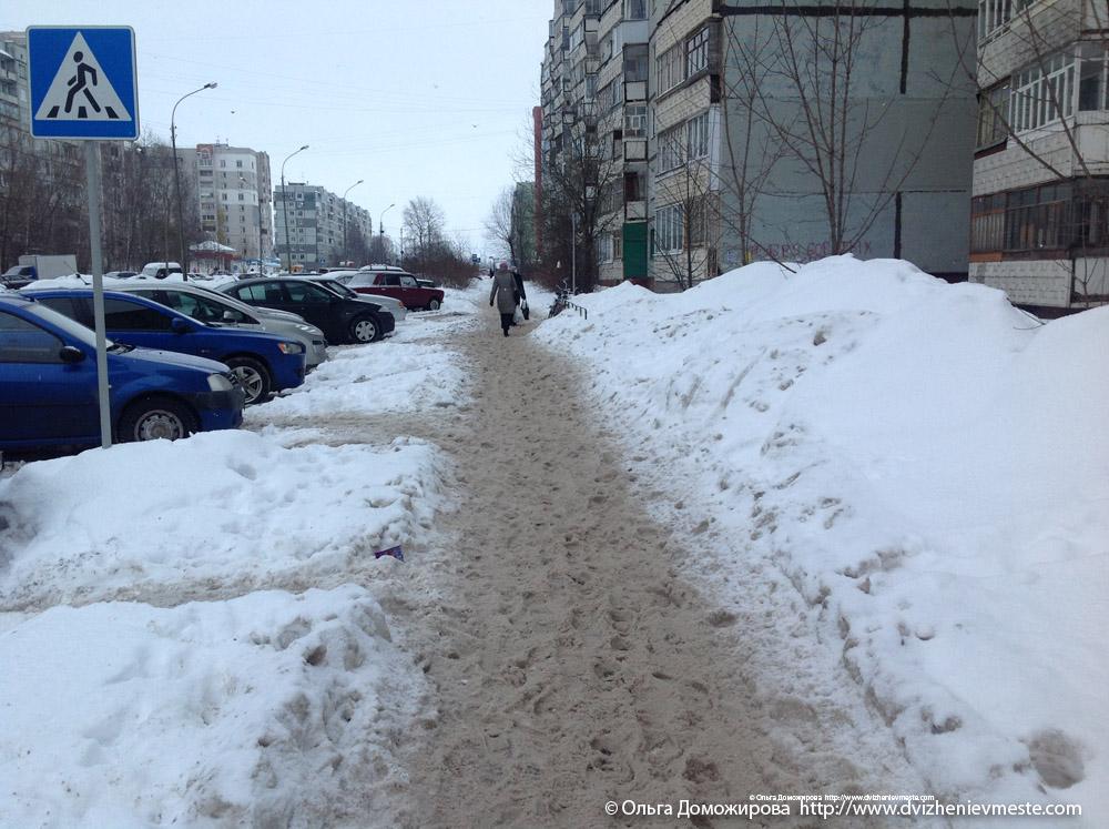 Приключения мамочки на зимней прогулке в Вологде