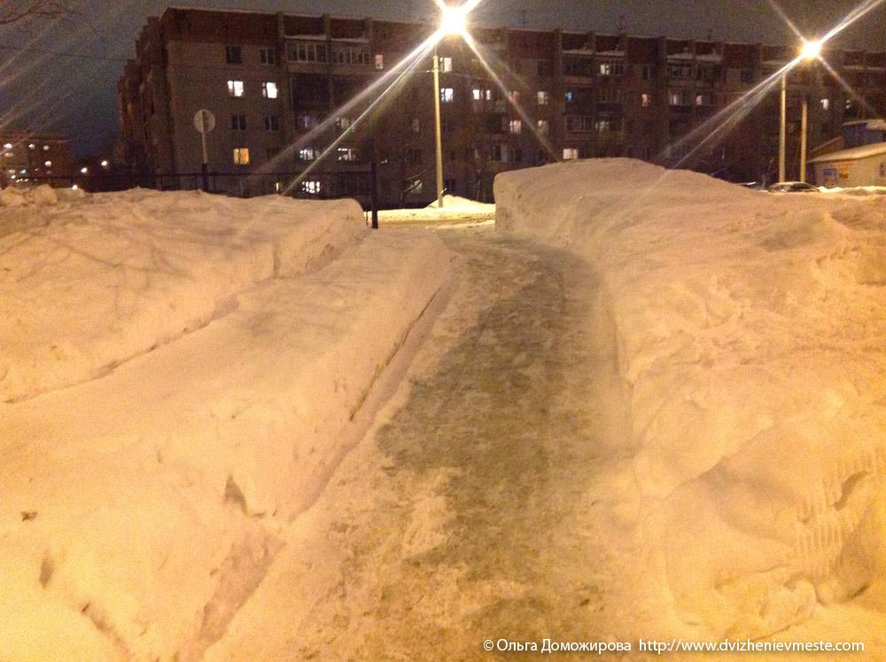 Зимняя дорога на коляске в Вологде (14)