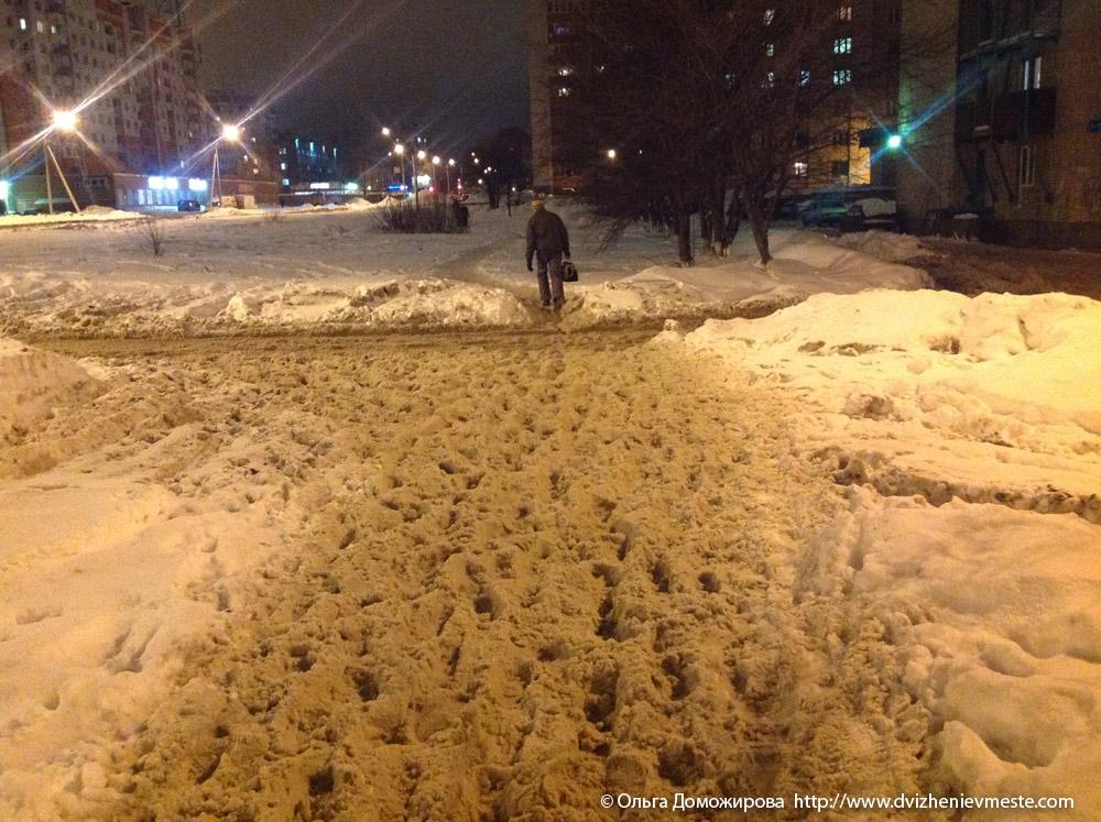 Зимняя дорога на коляске в Вологде (15)