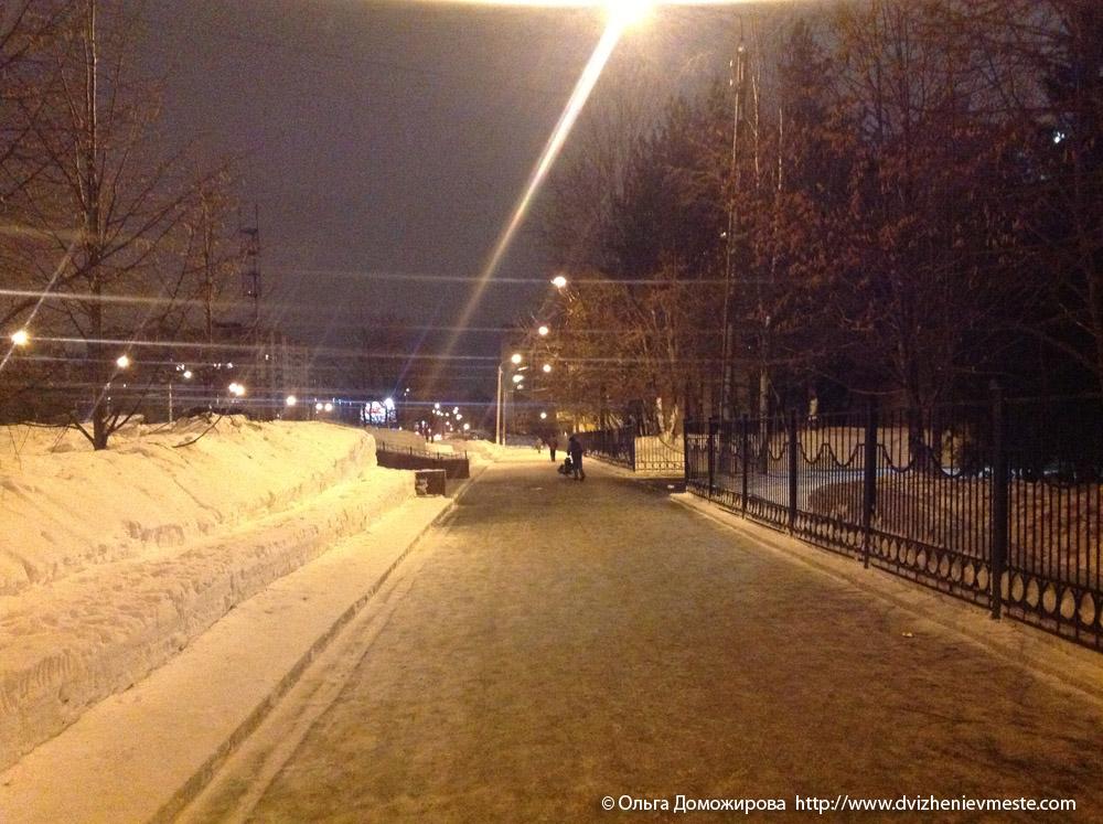 Зимняя дорога на коляске в Вологде (16)