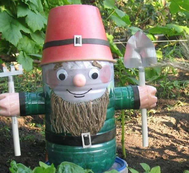 Как сделать садового гнома своими руками из гипса