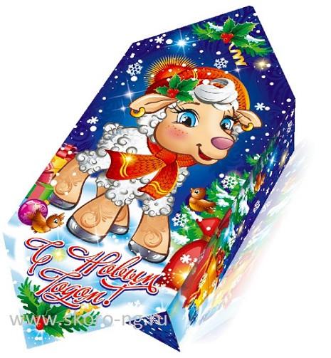 В новогоднем подарке всего 50 конфет