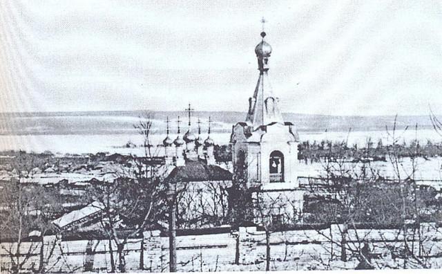 Фотографии Старой Пензы. Преображенская церковь