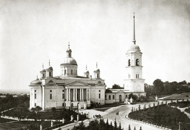 Фотографии старой Пензы. Соборная площадь
