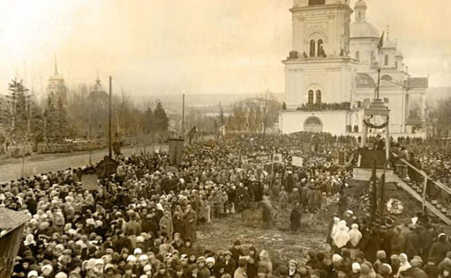 Фотографии Старой Пензы. Соборная площадь.