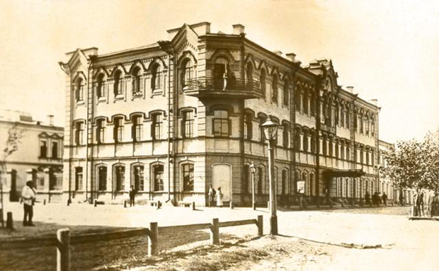 Фотографии Старой Пензы. Улица Лекарская. Железнодорожное училище.