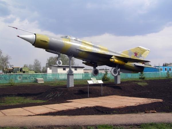 Миг-21 в Ермекеево