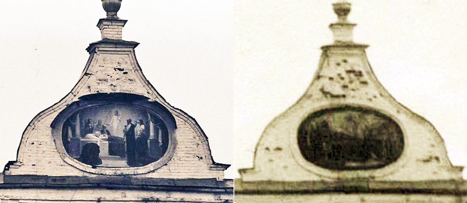 1884 фронтон