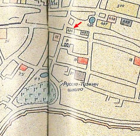 Карта Парфёнова-Федина (фрагмент)