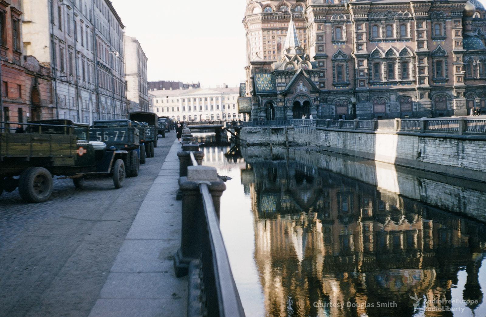 1953 Канал Грибоедова и храм Спаса на Крови