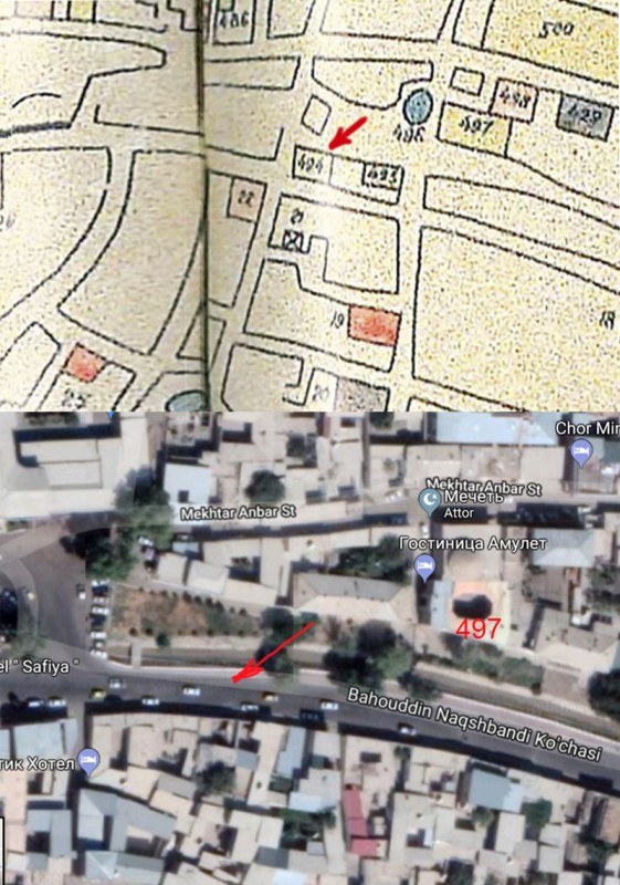 Карта Парфёнова-Федина (фрагмент)2