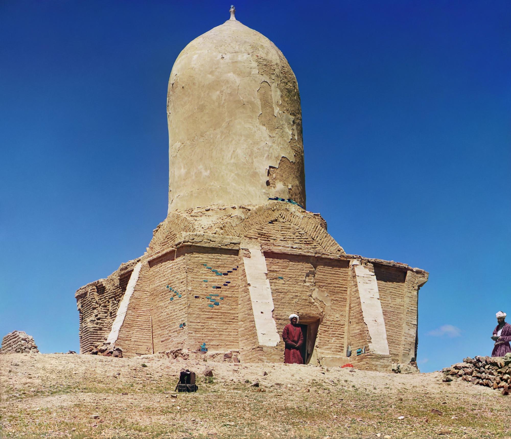 Samarkand Chapan-Ata chapel Ходаковские Константин и Владимир