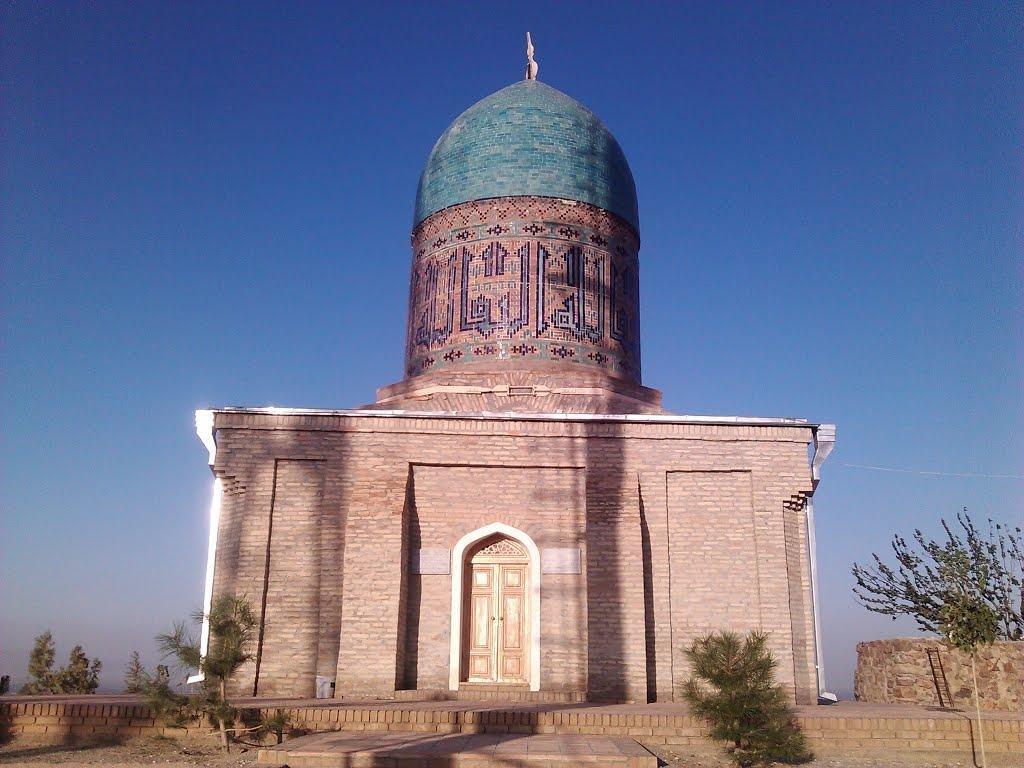 Samarkand Chapan-Ata chapel0