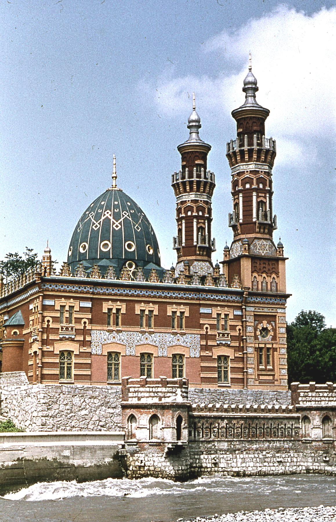 1971 Суннитская мечеть в Орджоникидзе (Владикавказе). В.Ю. Соколов