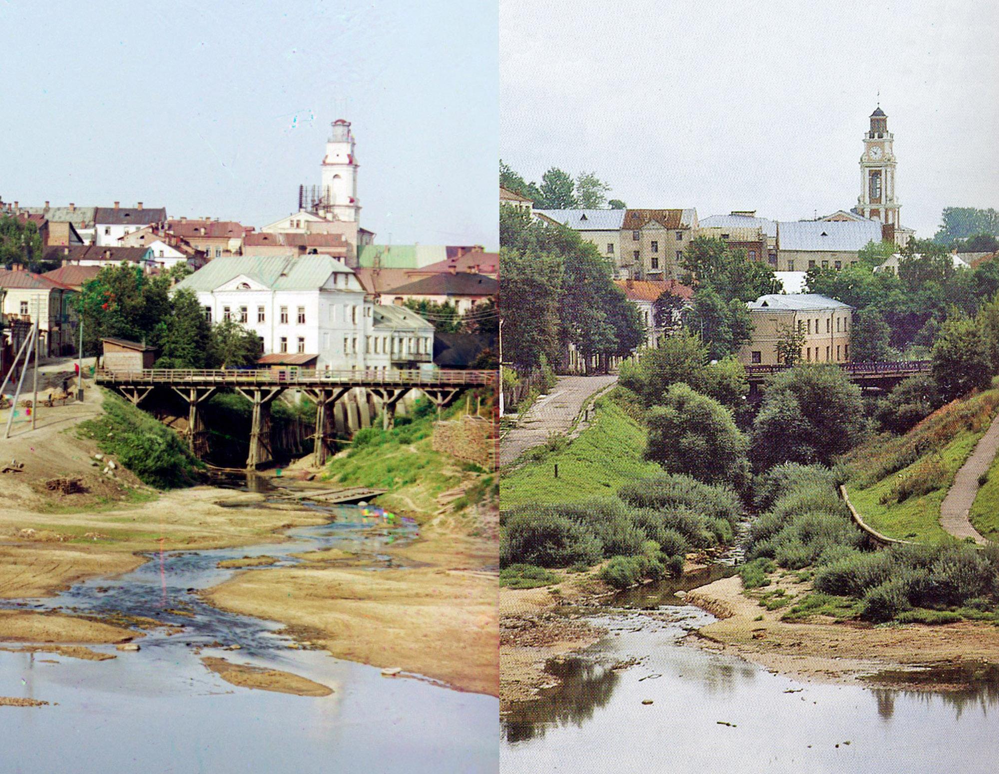 Витебск. Устье Витьбы 1912-1994