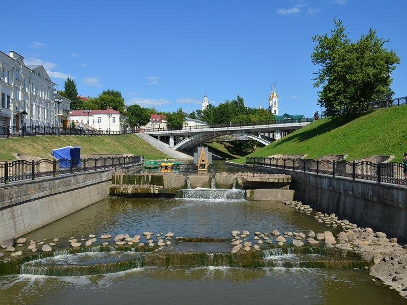 Устье реки Витьба