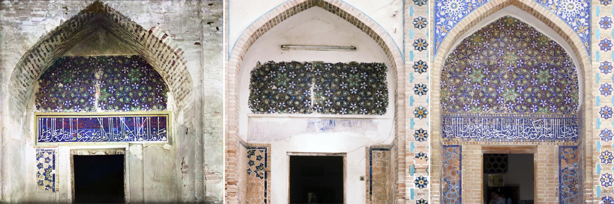 Самарканд. Дверь мавзолея Гур-Эмир 1911-1985-2008