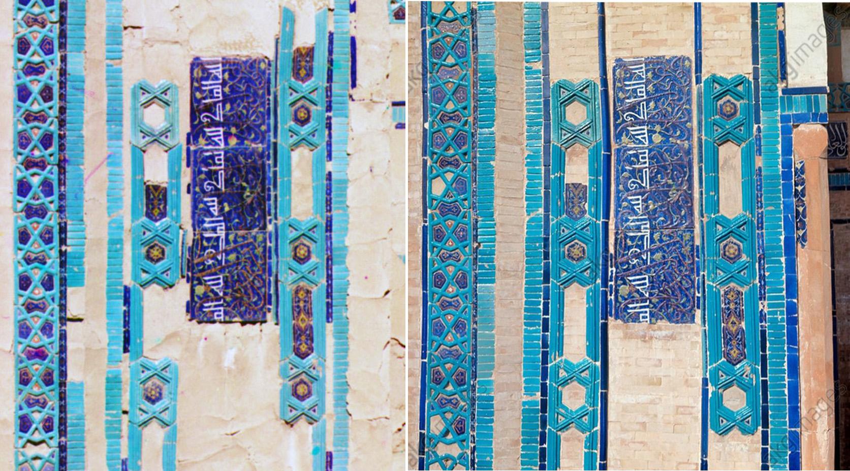Самарканд. Безымянный мавзолей 1911-1973 гг