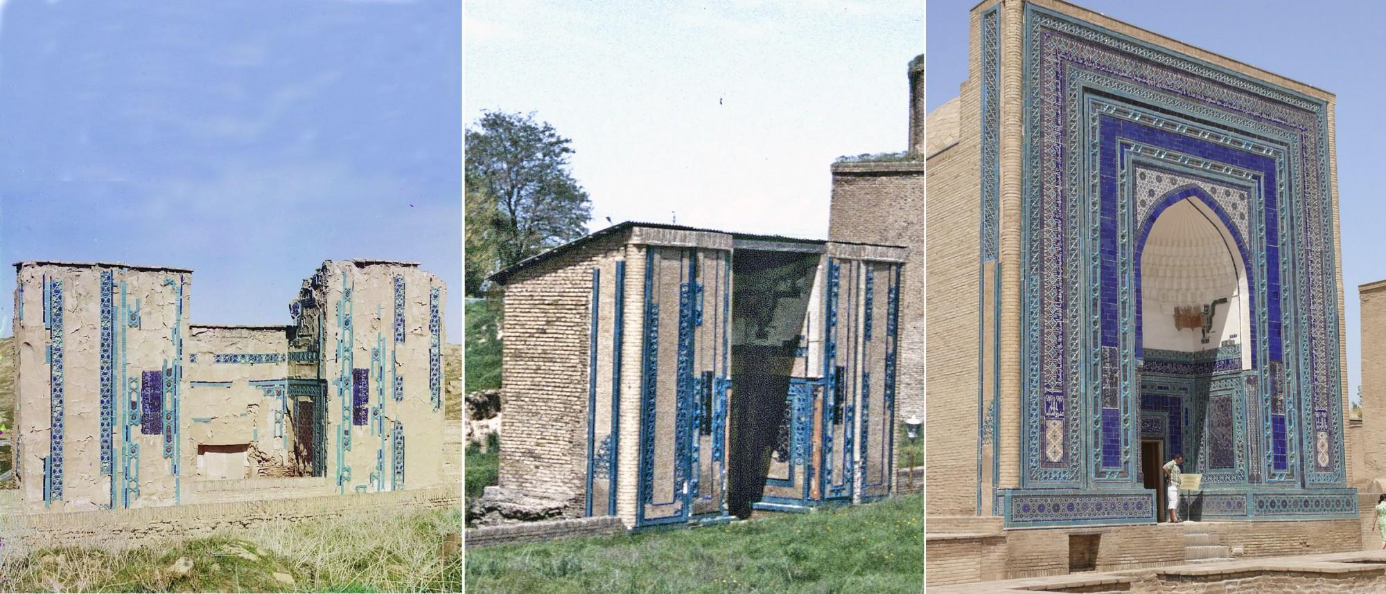 Самарканд. Безымянный мавзолей 1911-1992-2008