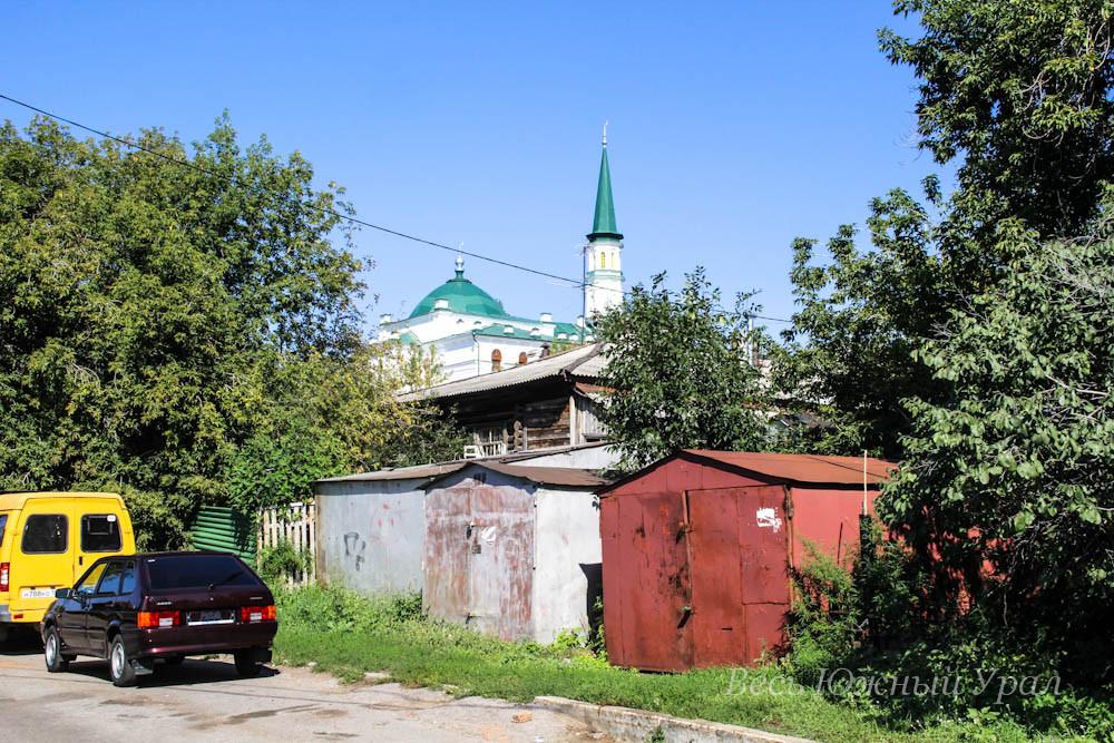 Главная мечеть в Уфе со Случевской горы местожительство муфтия 10553v Kuznezov