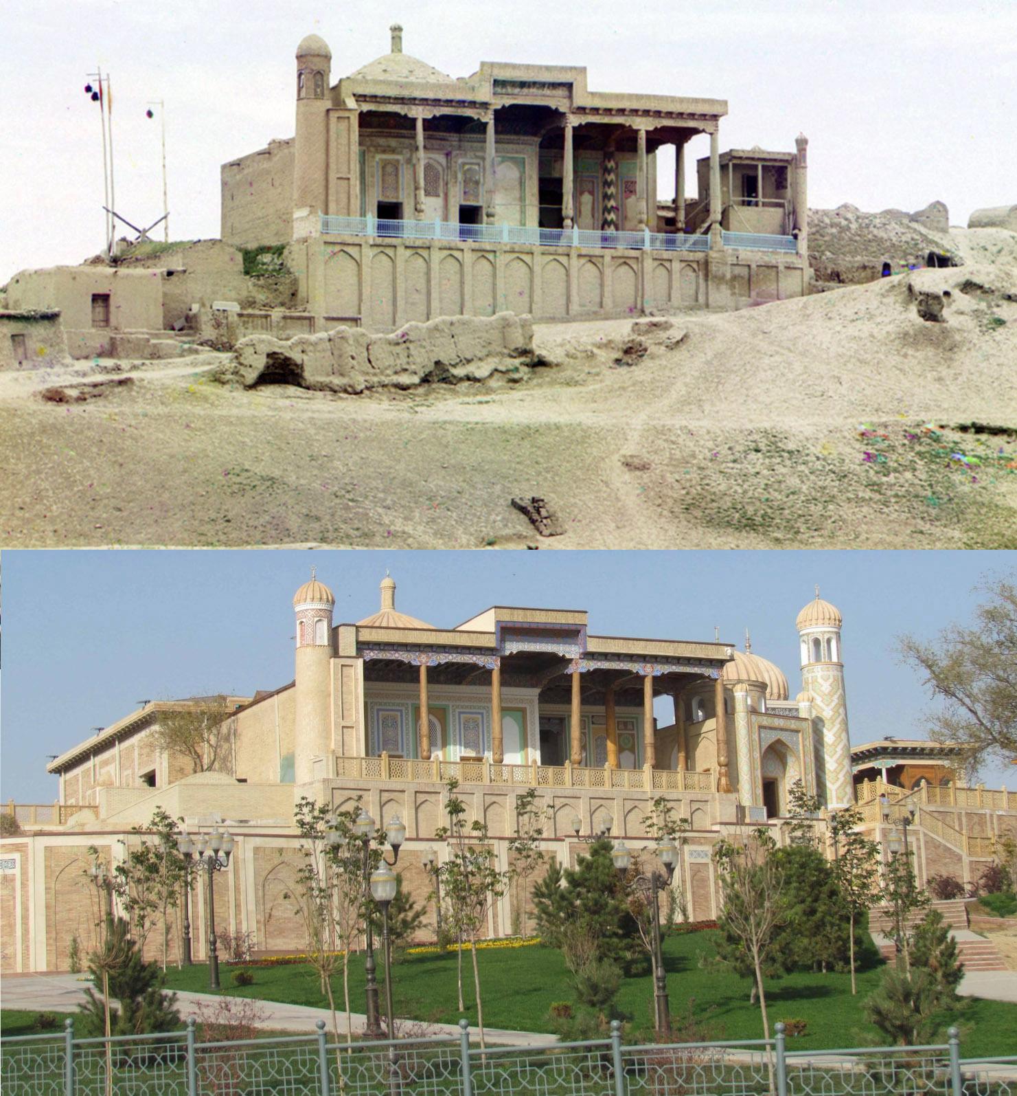 Самарканд. Мечеть Хазрет-Хызр 1911-2018 гг