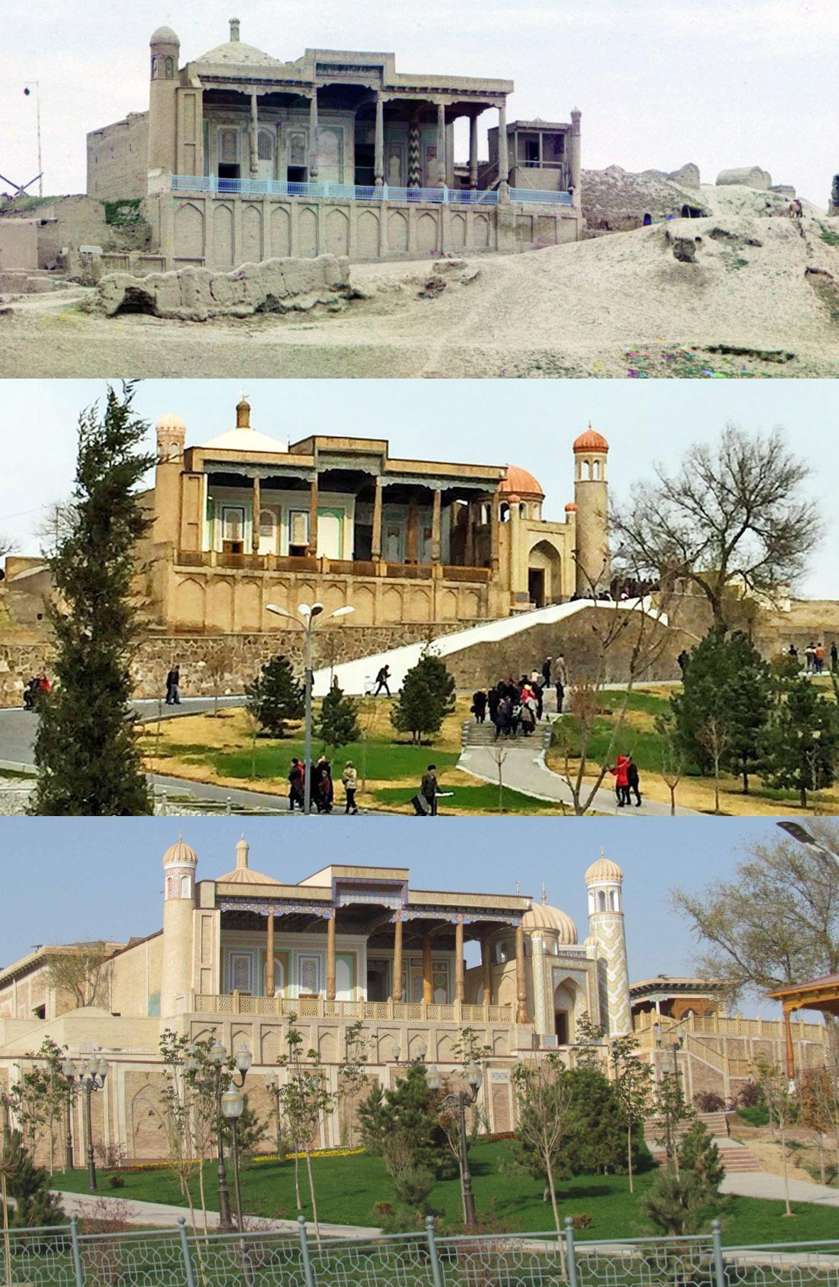 Самарканд. Мечеть Хазрет-Хызр 1911-2017-2018