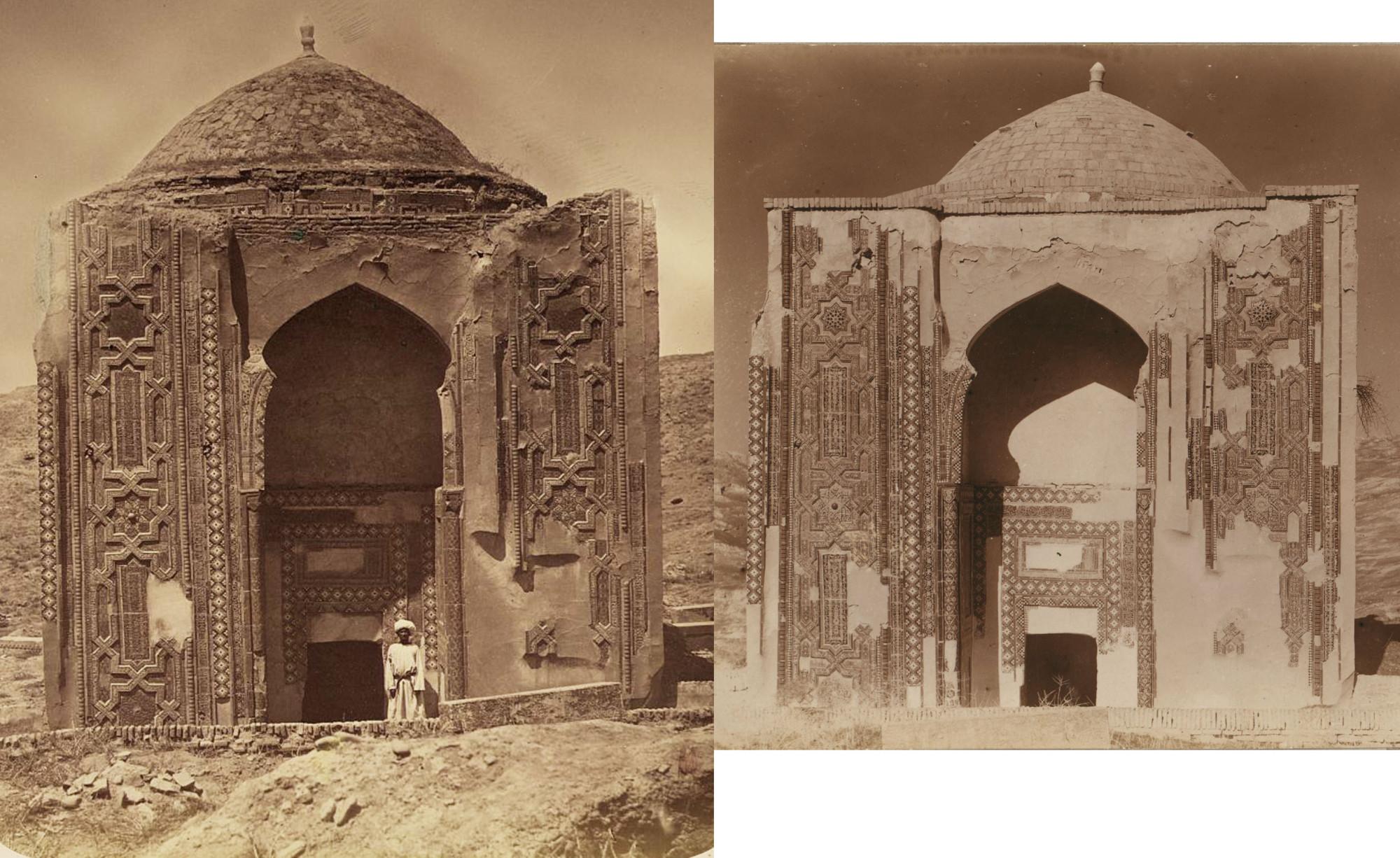 Мавзолей Усто Али Насафи XIV v 1870с-1911