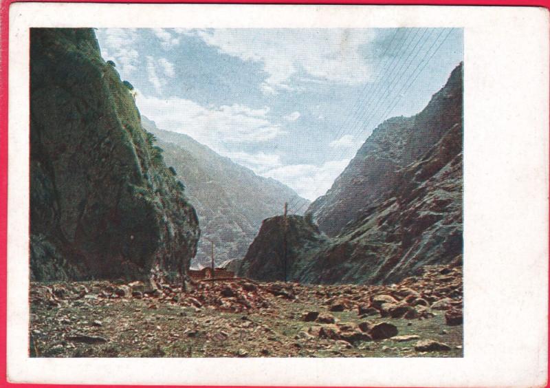 Военно Грузинская дорога. Дарьял Замок Тамары
