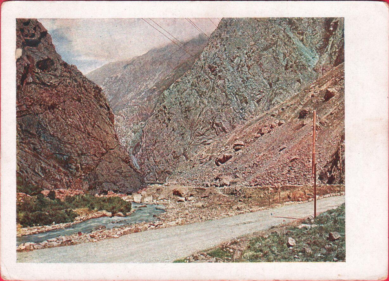 Военно Грузинская дорога. Дарьяльское ущелье. Терек3