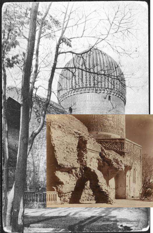 1900е Гуръ-эмиръ, гробнища Тамерлана 1911