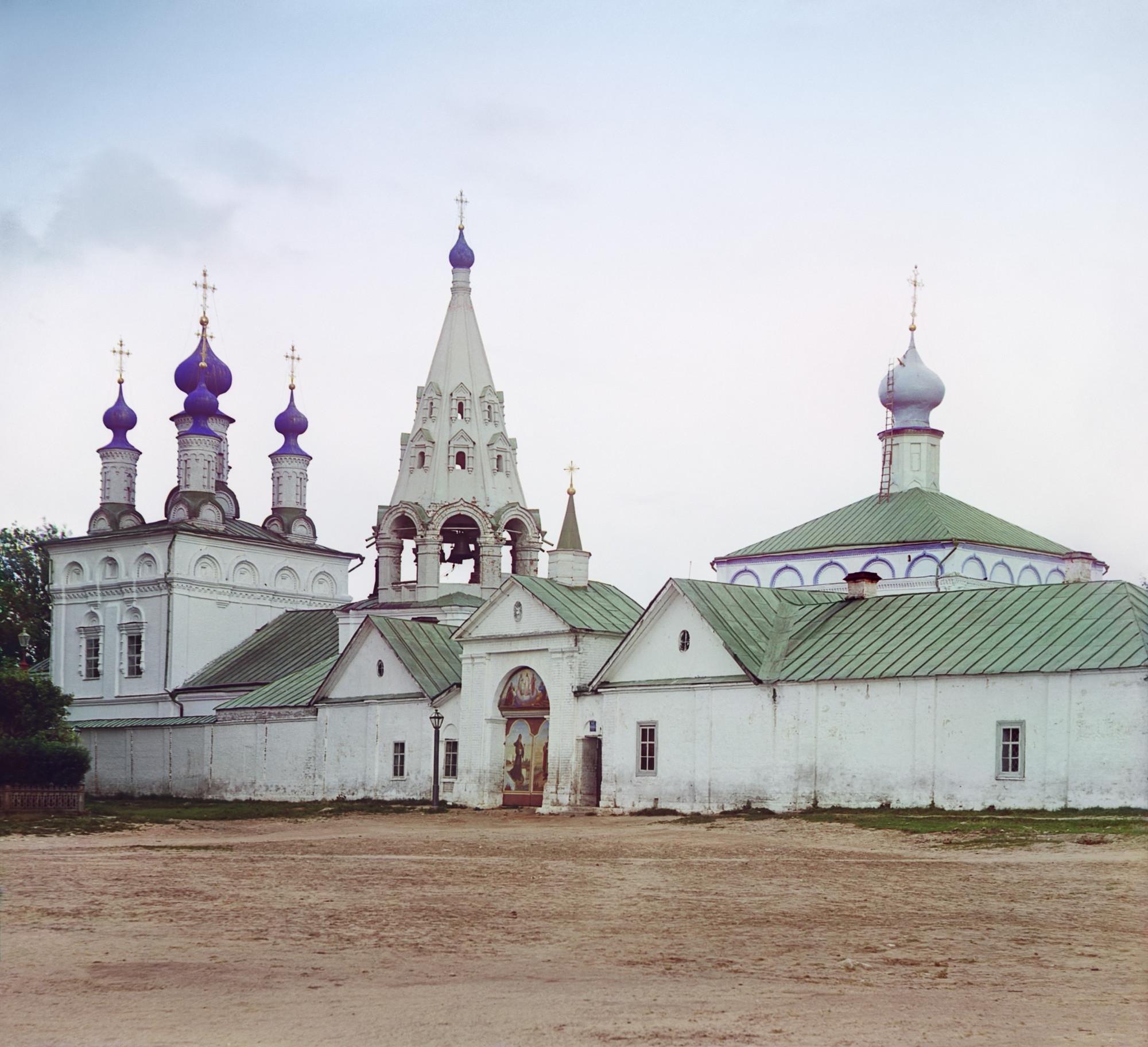 1912 Рязань Вход в Спасский монастырь  01465 БХ