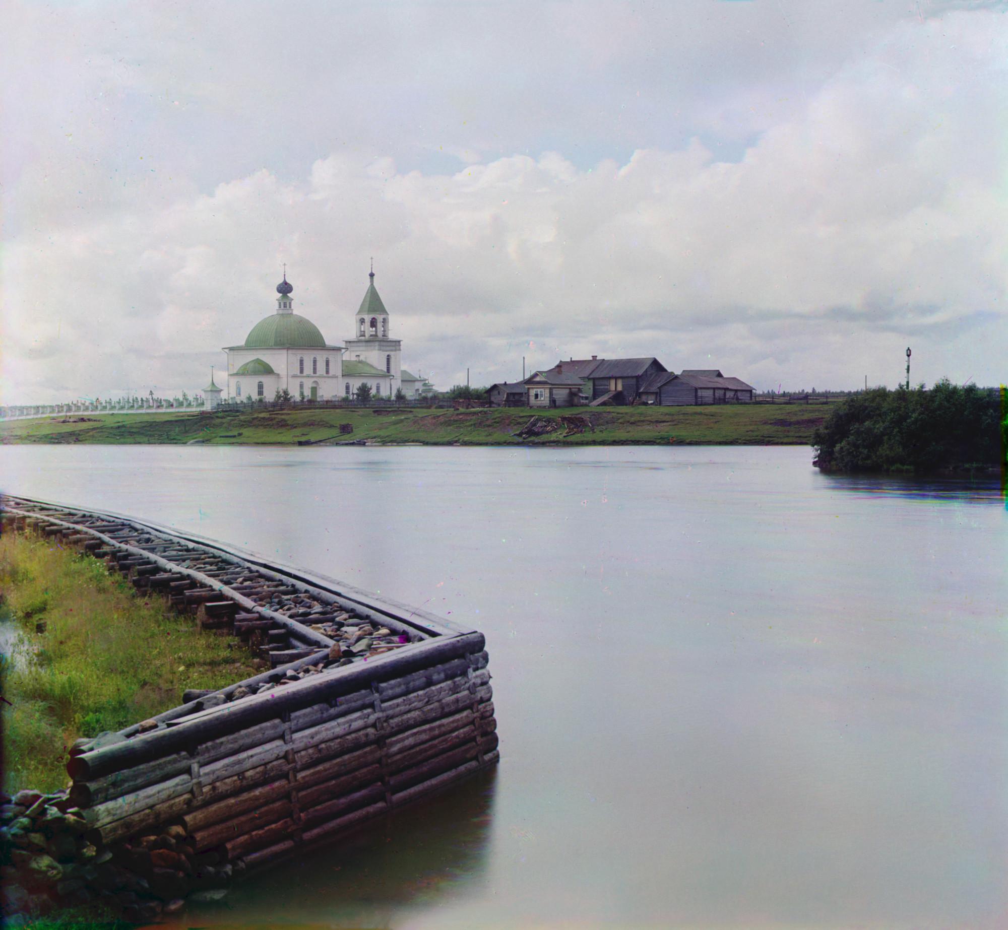 Село Ковжа. Береговые укрепления 0975l
